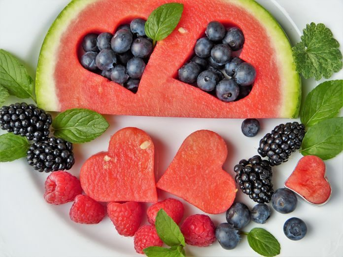 heart health diet fruits
